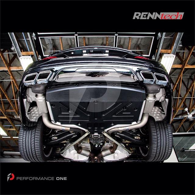 RENNtech Stainless Steel Sport Mufflers for Mercedes-Benz SL63 AMG   #RENNtech | #RENNtechMercedes | #Sport | #exhaust | #stainless | #stainlesssteel | #MB | #Mercedes | #Benz | #MercedesBenz | #SL63AMG | #SL63 | #AMG | #R231 | #AMGMercedes | #biturbo | #