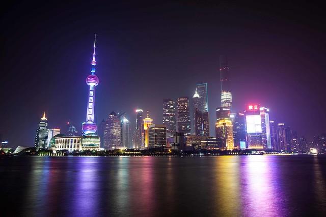 Night at Shanghai
