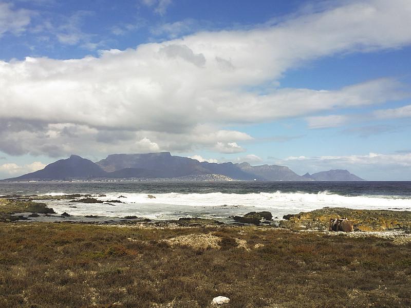 Robben Island view