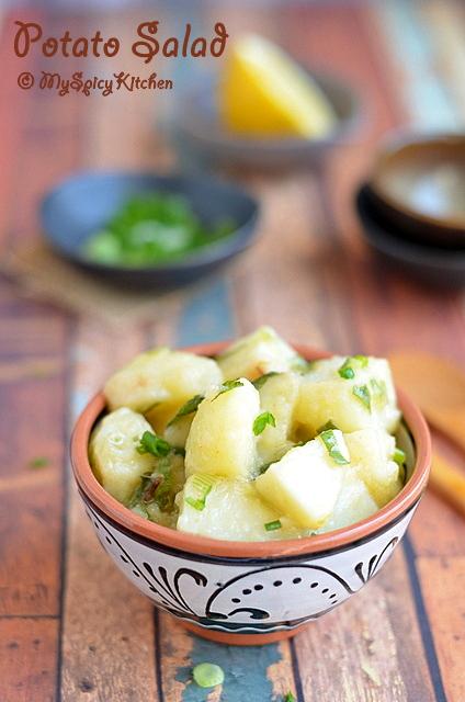 Potato Salad, Salad, NYT potato salad, Cooking from Cookbook Challenge, CCChallenge,