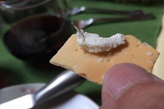 Navarro Vineyard Pinot Noir - Deep End Blend pairing cracker cheese