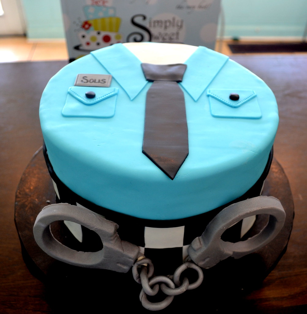 Chicago Police Cake Simply Sweet Creations Flickr