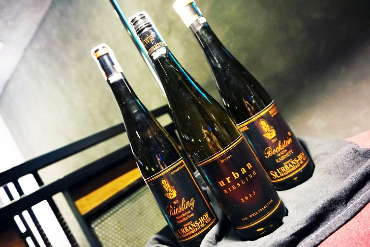 A night with St. Urbans-Hof Riesling Wines exclusively at Planet Grapes