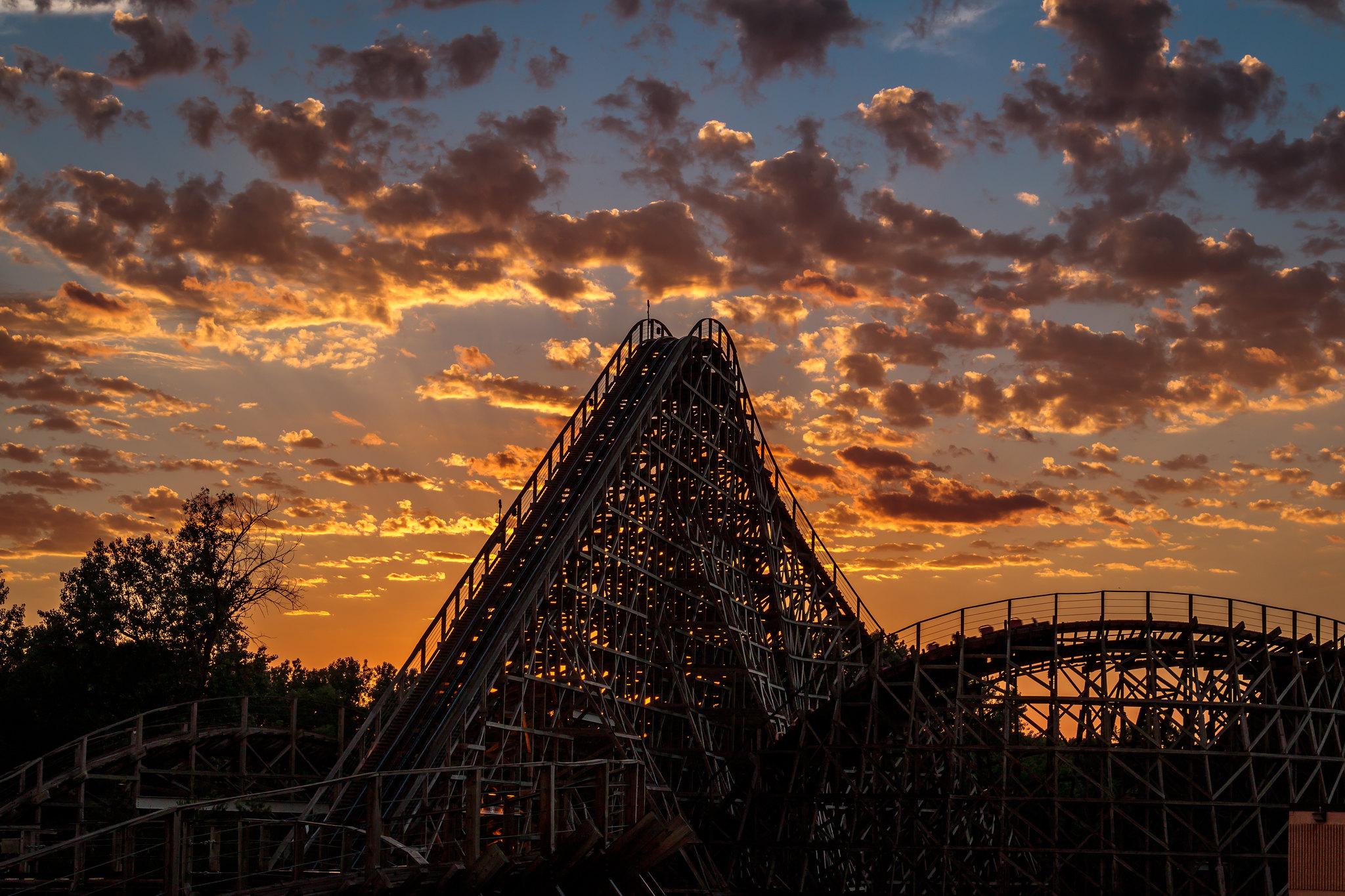 Valleyfair Sunset