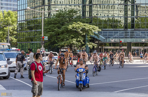 world naked bike ride montreal 57 | by Eva Blue