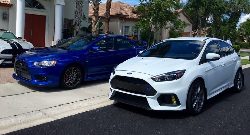 форд фокус 2 vs митсубиси лансер 9