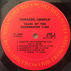 HARCEE ARNOLD:TALES OF THE EXONERATED FLEA(LABEL SIDE-B)