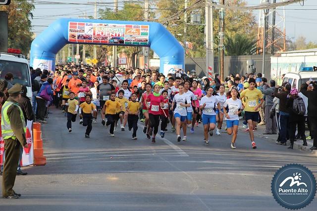 Media Maratón Puente Alto 2015