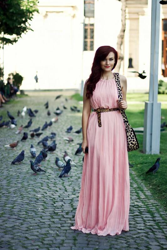 pink maxi dress2