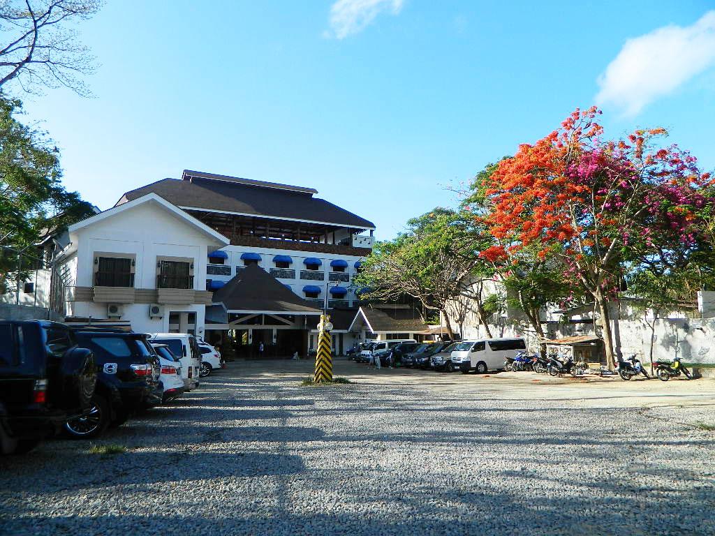 Blue-Coral-Parking-Lot