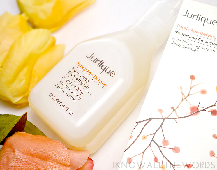 Jurlique purely age defying nourishing cleansing oil (1)