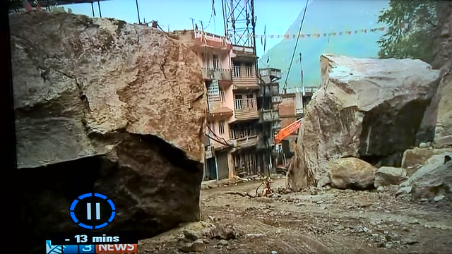 Kodari post 2015 earthquake BBC