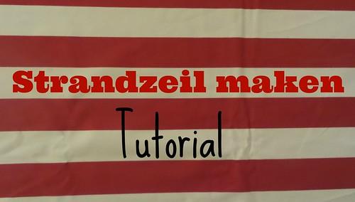 Strandzeil maken - tutorial door Laloe.be