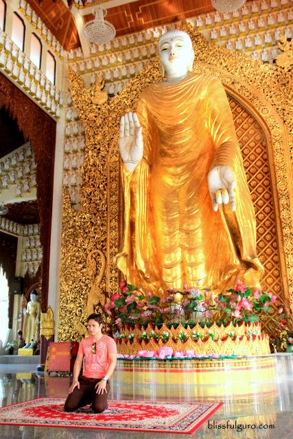 Burmese Temple Penang Malaysia