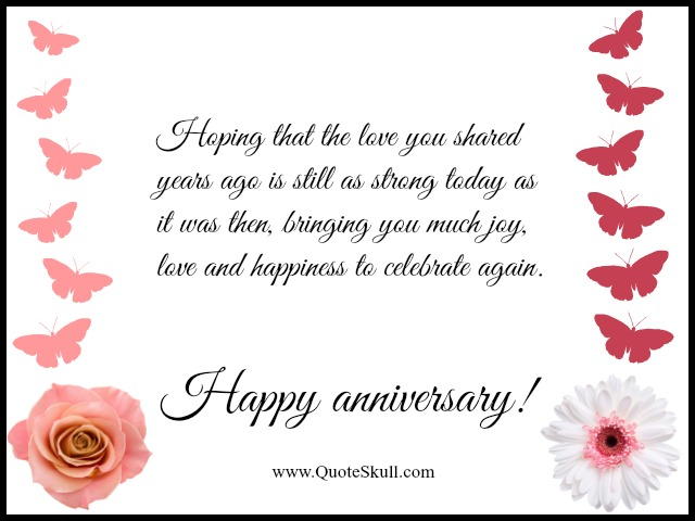 Happy Anniversary Quotes For Grandparents
