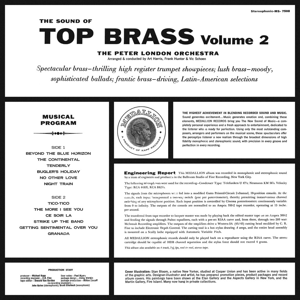 Peter London - The Sound of Top Brass