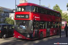 Wrightbus NBFL - LTZ 1406 - LT406 - Stagecoach - Trafalgar Square 15 - London - 150512 - Steven Gray - IMG_0398