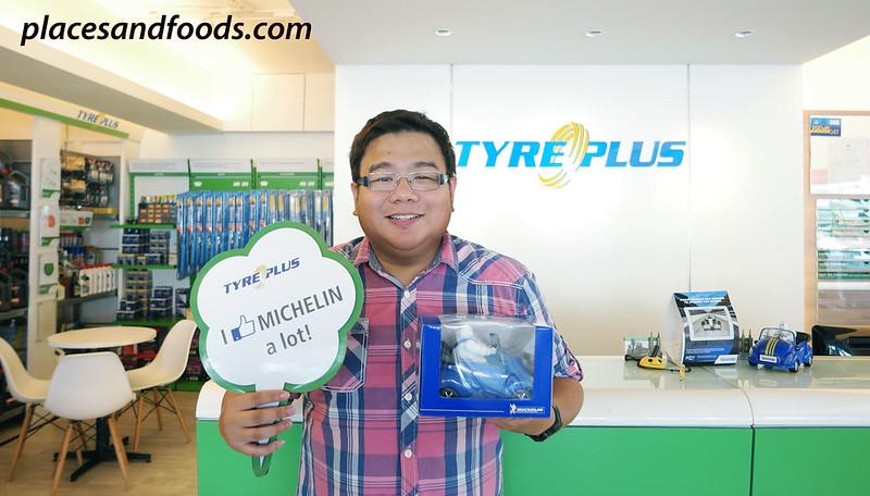 michelin tyreplus free gift