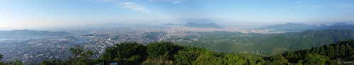 Panorama view from Mt. Sarakura
