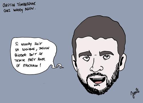 12_Justin Timberlake chez Woody