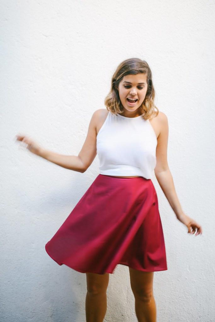 DIY Circle Top, Skirt and Dress