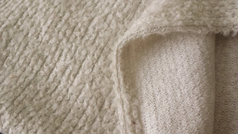 vintage wool boucle from Rathdowne Fabrics