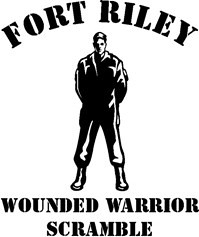Fort Riley Wounded Warrior Scramble Logo