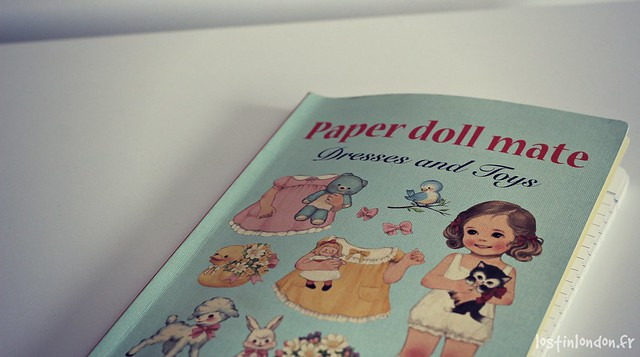 lovely notebook paper doll mate
