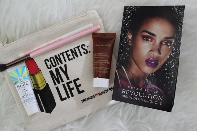 Ipsy May 2015 : jetsetter glam bag