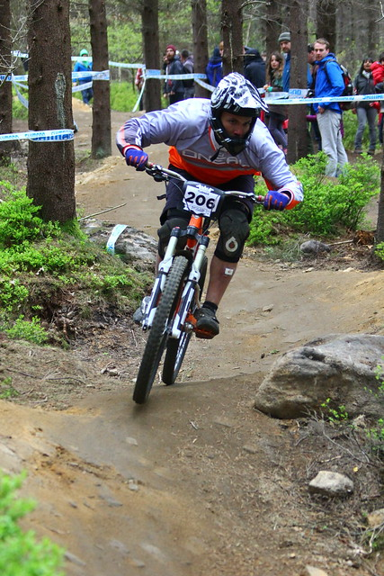 Cy racing at Steel City DH 2015