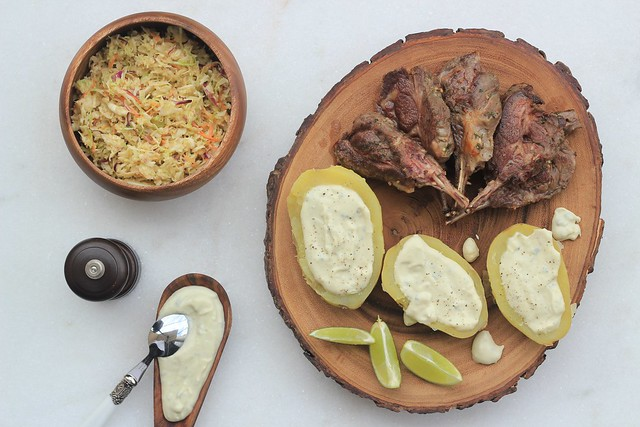 receita carre cordeiro batata creme gorgonzola