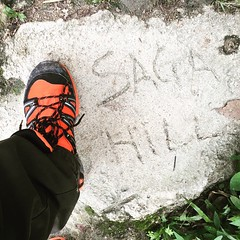 "#hiking @ #bukitsaga... I have only one word... ""Intense""."