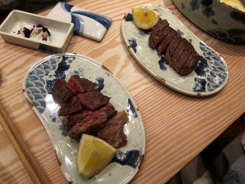 Grilled Kobe beef
