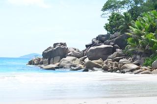 Granite Boulders - Anse Georgette, Seychelles