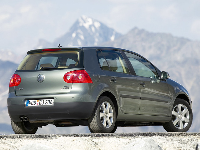 Пятидверный Volkswagen Golf 4MOTION. 2004 – 2008 годы