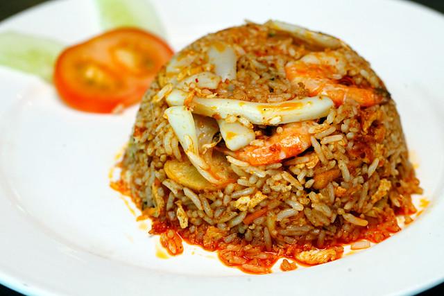 Seremban Station Sambal Seafood Fried Rice