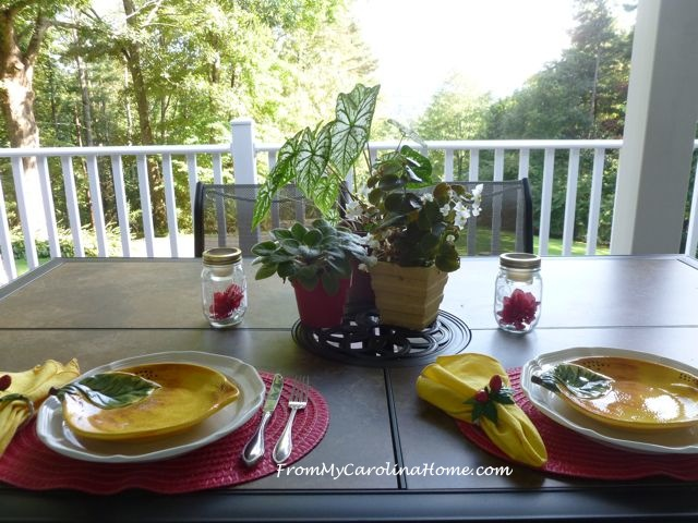 Late Summer Cookout ~ From My Carolina Home