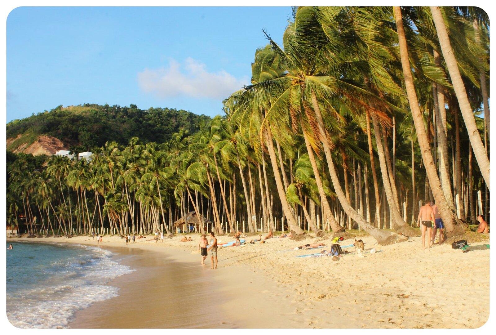 el nido cabanas beach