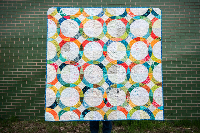 January Quilt made by Rebekah at dontcallmebecky.com