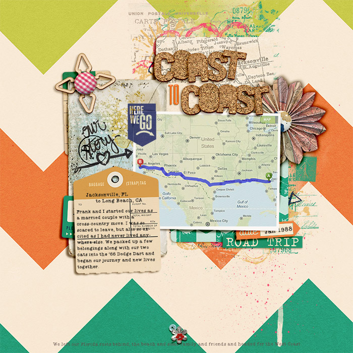 Coast to Coast Map