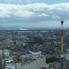 最上階から・その1 #新潟 #niigata