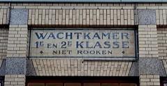 2015-0516 WESTERBORKPAD etappe 5 Bussum-Hilversum 02 station Bussum