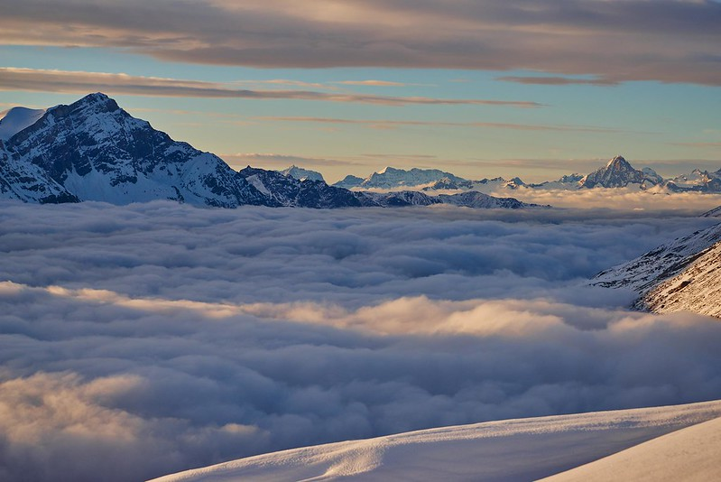 Clouds and fog - Zermatt
