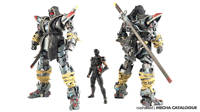 Bandai x threezero - Fullmetal Ghost SHADOW BLADE