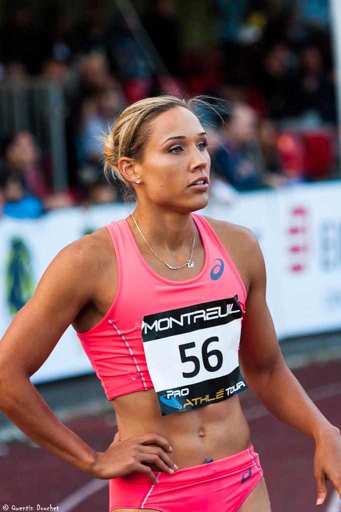Lolo Jones Usa - Meeting Montreuil 2015  Avant Le -4372