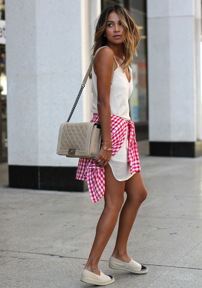 Espadrilles outfits for summer inspiration05