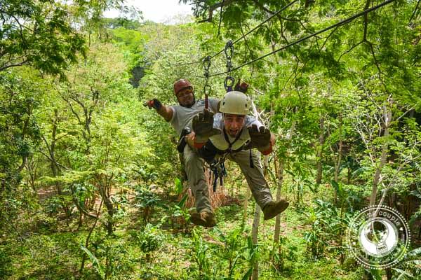 Ziplining Superman Style Nicaragrua