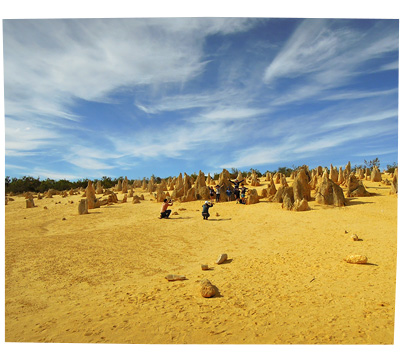The Pinnalces, Western Australia. Nambung National Park