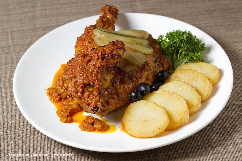 11.African Chicken