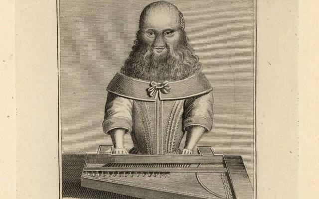 Бородатая женщина Барбара Урселин